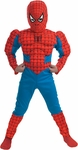 Child's Deluxe Spider-Man Costume
