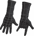 Child's Black Spider Man Costume Gloves