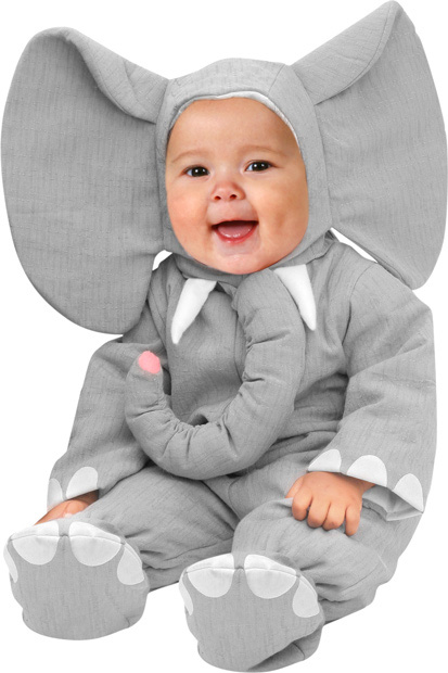 Baby Heirloom Elephant Costume