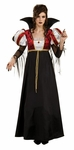 Womens Royal Vampire Costume Gown
