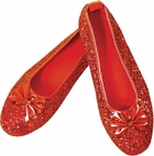 Child's Dorothy Costume Red Slippers