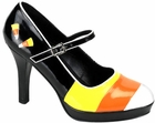 Women's Candy Corn Witch Shoes