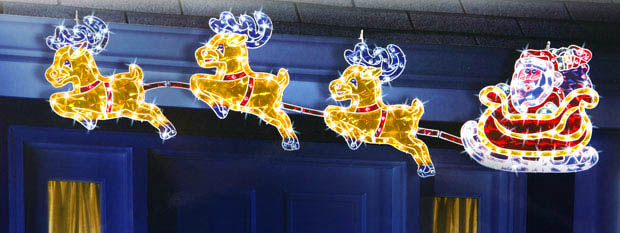 Holographic Reindeer and Santa