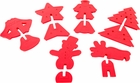 Christmas 3D Cookie Cutter Set
