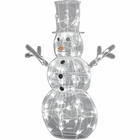 Christmas Ice Sculpture Snowman
