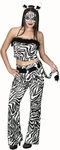 Adult Women's Zebra Costume