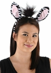 Zebra Ears And Tail Costume Kit
