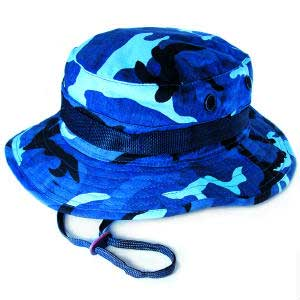 Sky Blue Camouflage Boonie Hats