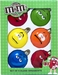 Glass 6 pc M&M Candy Ornament Set