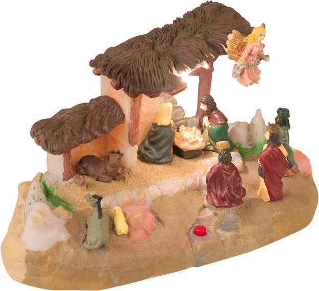 Animated Christmas Nativity Scene