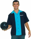 Adult 50s King Pins Bowling Shirt