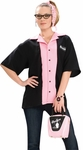 Woman's 50s Queen Pins Bowling Shirt