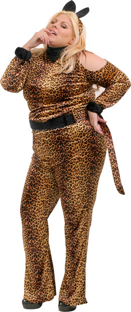 Plus Size Leopard Costume