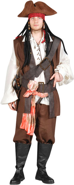 Pirate First Mate Theater Costume