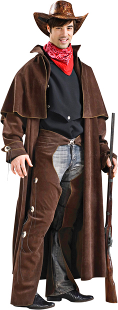 Adult Deluxe Cowboy Costume