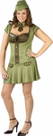 Adult Plus Size Army Major Costume
