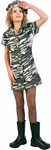 Preteen City Camo Army Girl Costume