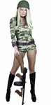 Sexy ARMY Camouflage Bodysuit Costume