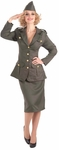Women's WWII Army Costume
