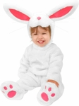 Baby Plush White Rabbit Costume