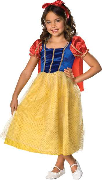 Child's Snow White Costume