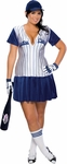 Plus Size Sexy Baseball Player Costume