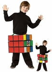 Child's Rubik's Cube Costume