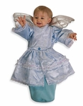 Baby Blue Angel Bunting Costume