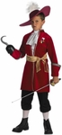 Child's Disney Captain Hook Costume