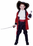 Child's Pirate Captain Costume