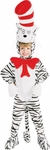 Child's Striped Cat in the Hat Costume