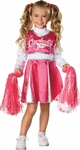 Toddler Pink Cheerleader Girl Costume