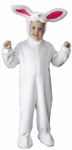 Toddler Plush White Rabbit Costume