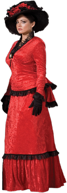 Women's Sadie Victorian Costume Dress