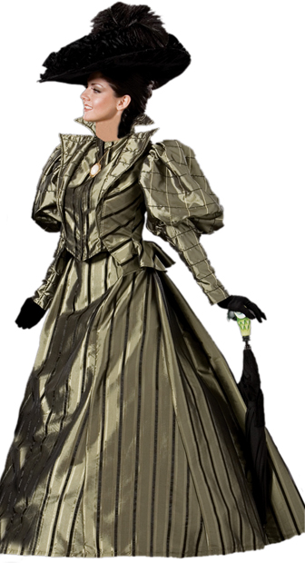 Women's Authentic Victorian Costume Dress