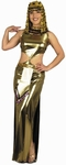 Adult 2 Piece Gold Cleopatra Costume