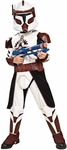 Child's Deluxe Clone Trooper Commander Fox Costume