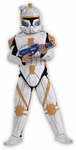 Child's Star Wars Deluxe Clonetrooper Commander Cody Costume