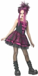 Teen Hot Pink Gothic Ballerina Costume