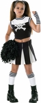 Girl's Bad Spirit Cheerleader Costume