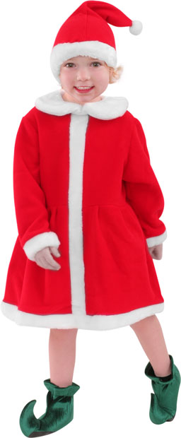 Child's Santa's Helper Costume