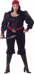 Plus Size Women's Gothic Pirate Costume