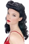 Adult Betty Page Pin Up Girl Wig
