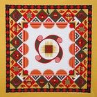 Aztec Bandanas Tan W/ Light Center