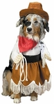 Cowgirl Dog Costume