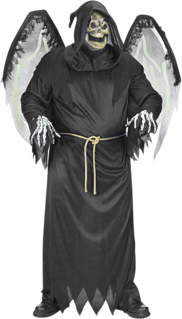 Plus Size Winged Reaper Costume