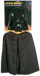 Child's Darth Vader Costume Cape & Mask Set