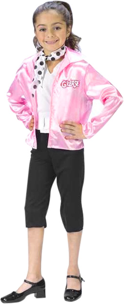Child's Grease Pink Ladies Costume