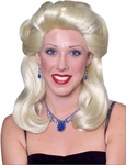 40s Blonde Pinup Girl Wig