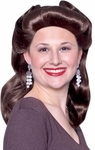 40s Brown Pinup Girl Wig